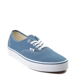 Blue mens vans